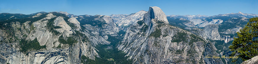 yosemite national park panorama